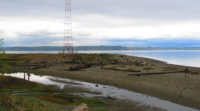 KVI Beach on Vashon Island
