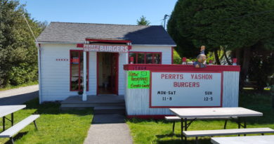 Perry's Burgers on Vashon Island. A damn good burger.