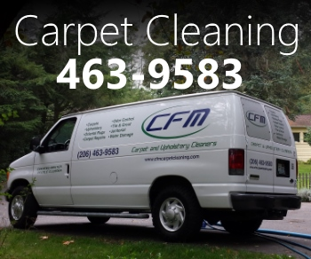 Vashon Island Carpet Cleaning CFM on Vashon Island Washington