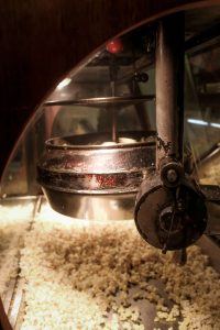 Vashon Island Theater Popcorn maker old World War 2