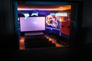 Vashon Island Theater projector room