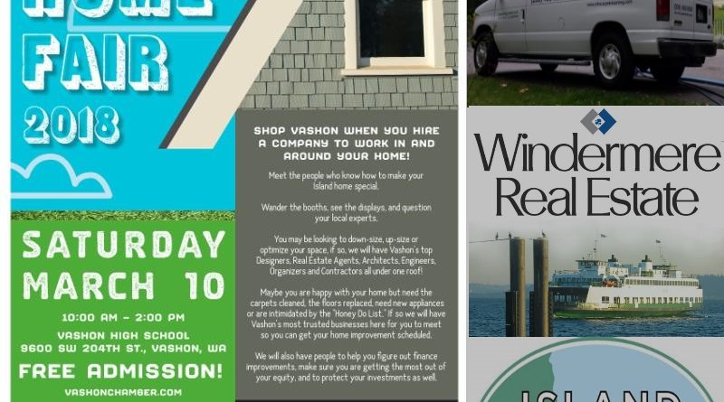 Vashon Island Home Fair 2018